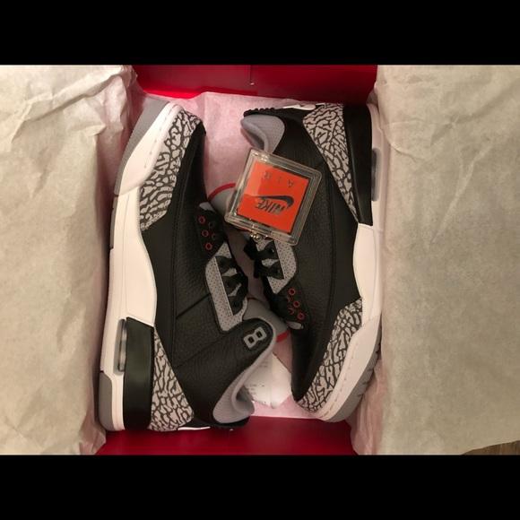 059198cb1f1705 Nike air Jordan black cement 3 BC3 Retro